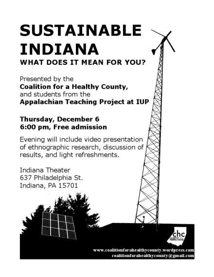 Sustainable Indiana Flier